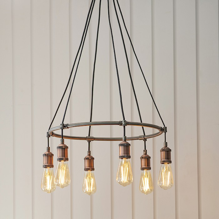 Toby 6 Light Pendant